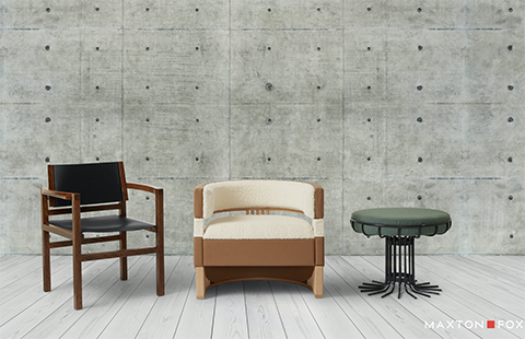 Western Sydney University's emerging student designers showcased in Maxton Fox collection of chairs