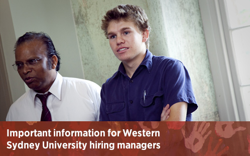 Information for hiring managers