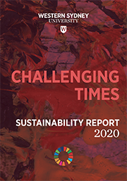 Sustainability Report 2020 Front Cover image