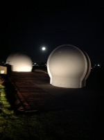 Campbelltown Domes at Night